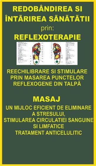 Reflexoterapie si Masaj